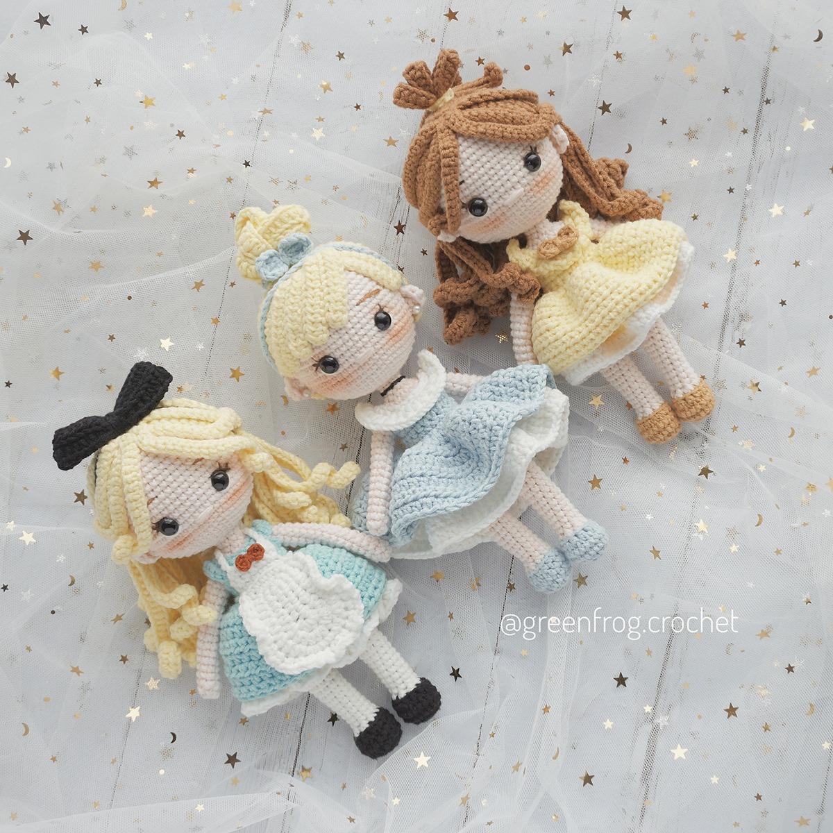 Ravelry: Princess Belle Inspired Amigurumi pattern by jossa handmade   1200x1200