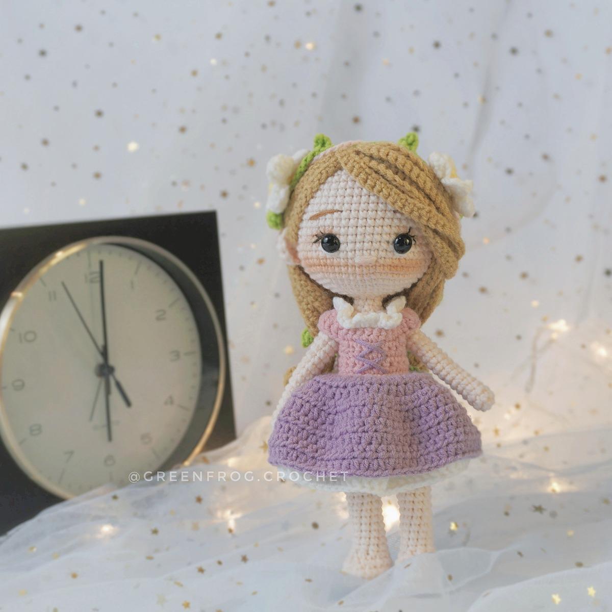Crochet Disney Dolls Elsa Aurora Belle Snow White Rapunzel ... | 1200x1200