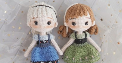 Blush for Amigurumi dolls