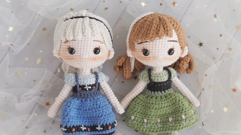 Blush for Amigurumi dolls