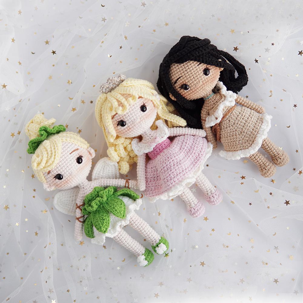 Crochet princess amigurumi pattern   Amiguroom Toys   1000x1000