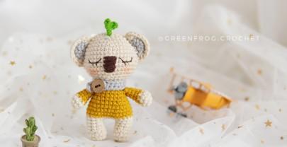 Amigurumi Baby Koala Free Pattern