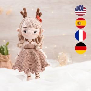 Reindeer-Elf-Amigurumi-Pattern