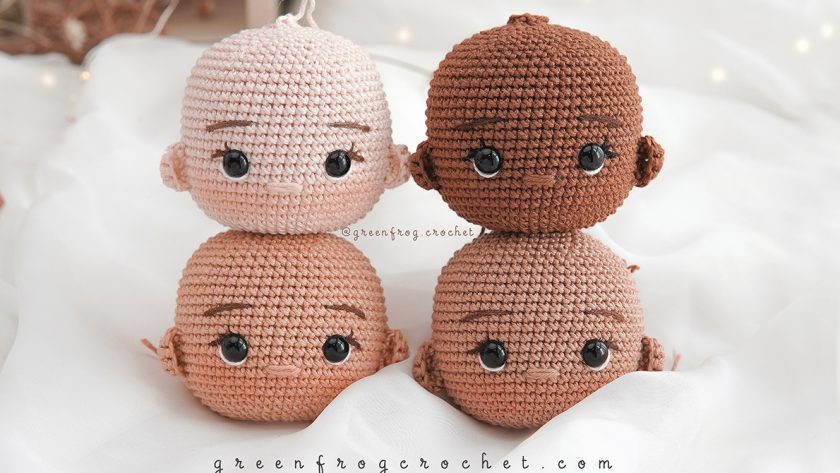Cotton Skin Color Yarns for Crochet Doll